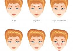 Dunkle Flecken von Akne im Gesicht aufhellen